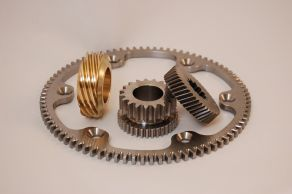 Bronze oil pump gear,starter ring gear, helical gear, hobbed and shaped transmission gear